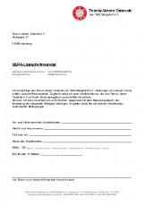 SEPA-Lastschriftmandat