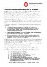 TVO Datenschutz Einwilligungserklärung